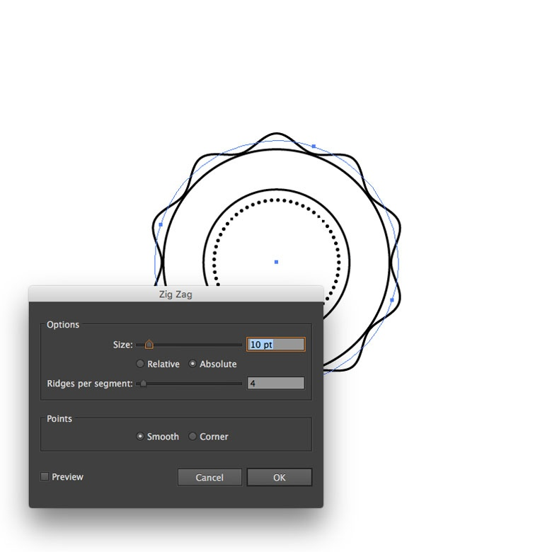 Line Texture Illustrator : How to create a dotted line in illustrator vectortwist