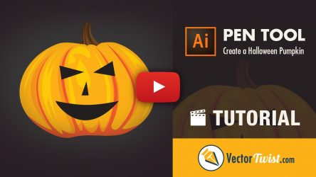 How to Draw a Halloween Pumpkin in Illustrator
