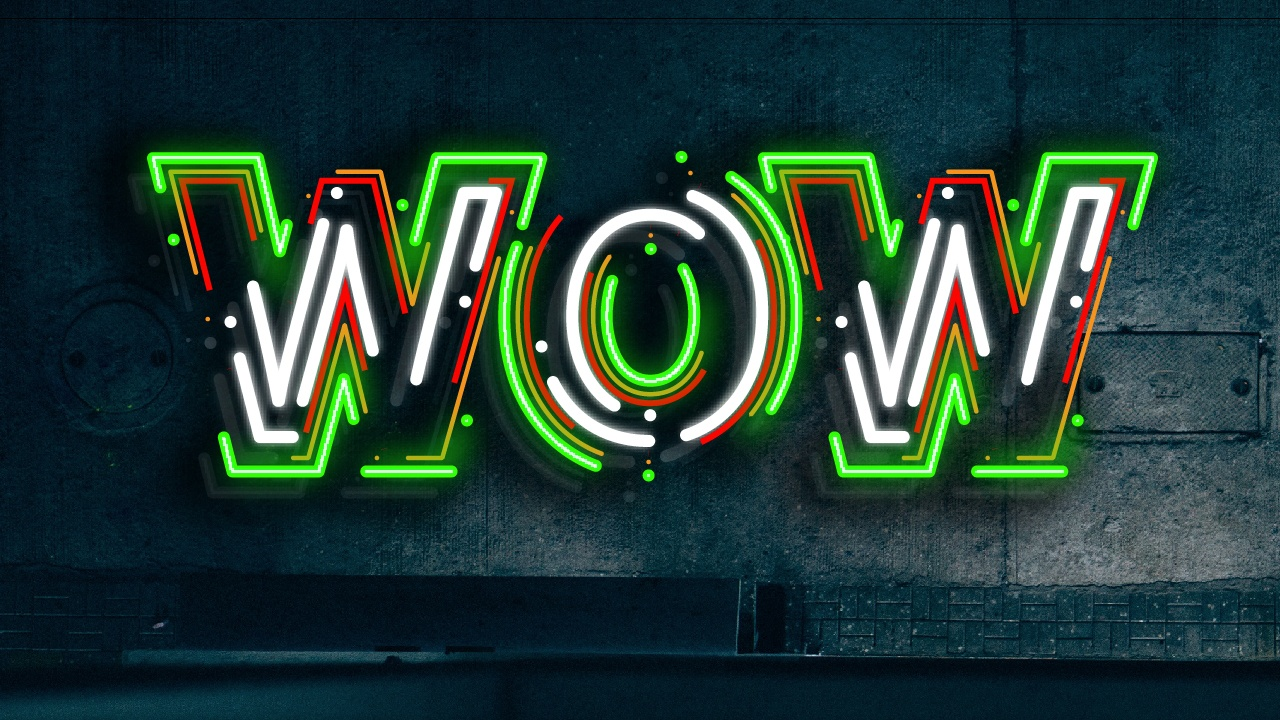 neon text effect with illustrator s appearance panel vectortwist