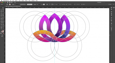 Create a Flower Logo in Adobe Illustrator CC