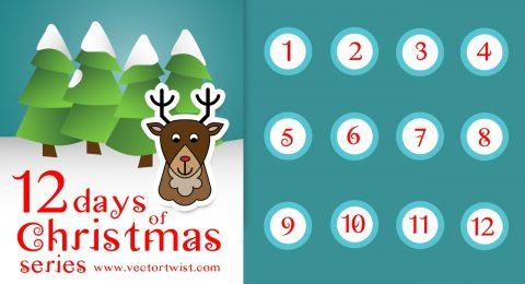 Vectortwist's 12 Days of Christmas