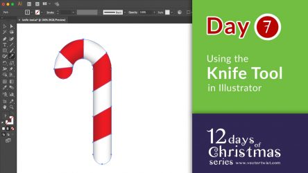 How to Create a Straight Cut with the Knife Tool in Adobe Illustrator