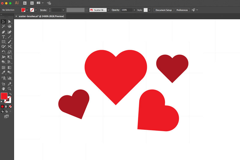 How To Create Scatter Brushes Illustrator Quick Tip Vectortwist