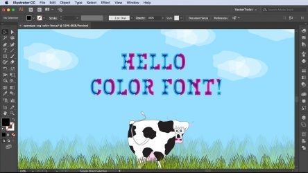 How to Use Color Fonts – Video Tutorial