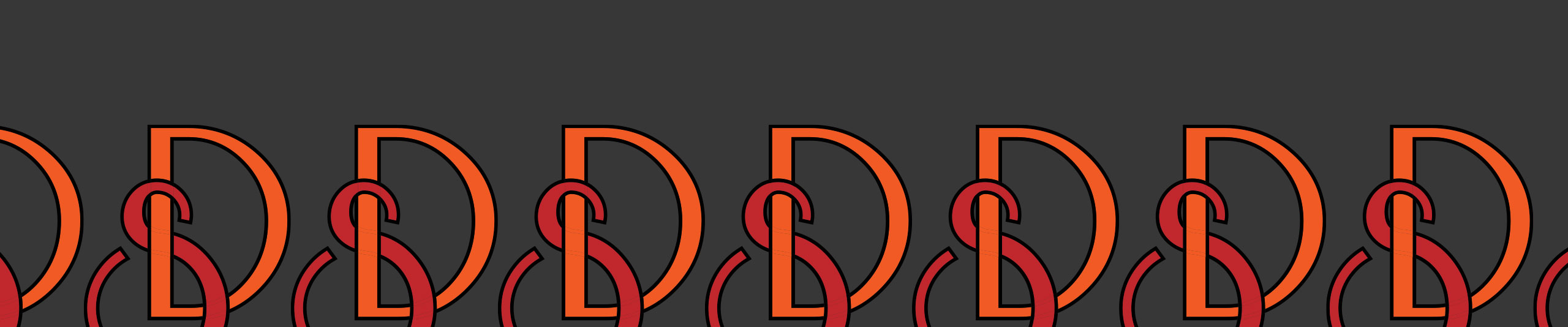 How to Interlock Monogram Letters with the Live Paint Bucket Tool in Adobe Illustrator CC