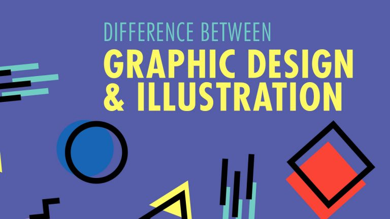 Difference between Graphic Design and Illustration