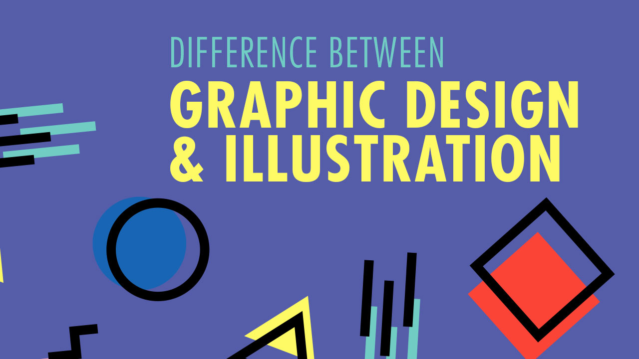 Difference Between Graphic Design And Illustration Vectortwist