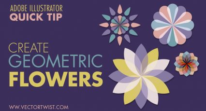 Create Geometric Flowers in Illustrator