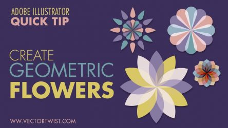 Create Geometric Flowers in Illustrator