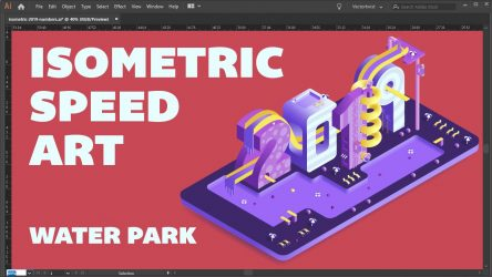 Isometric Illustrator 2019