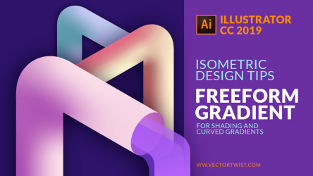Freeform Gradient in Illustrator