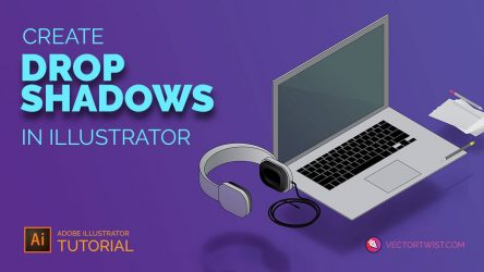 Create Drop Shadows in Illustrator