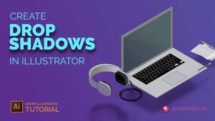 Create Drop Shadows in Illustrator
