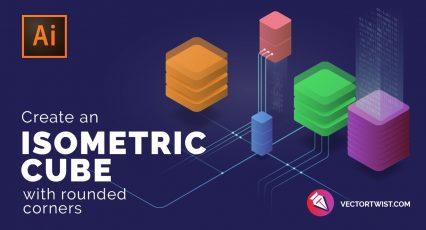 Isometric Cube Design – Adobe Illustrator