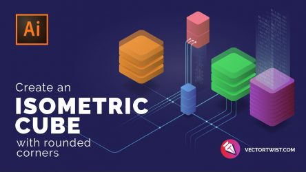 Isometric Cube Design – Adobe Illustrator