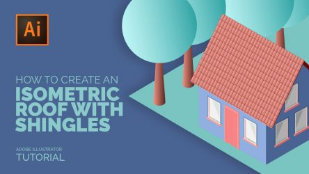 How to Create an Isometric Roof with Shingles