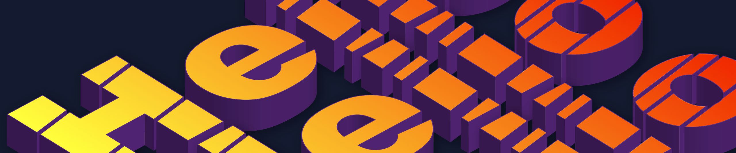 Create Sliced or Cut Isometric (3D) Text Effects in Adobe Illustrator