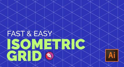 Easy Isometric Grid in Adobe Illustrator