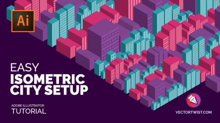Easy Isometric City Setup in Adobe Illustrator