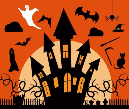 Haunted House Vector Pack