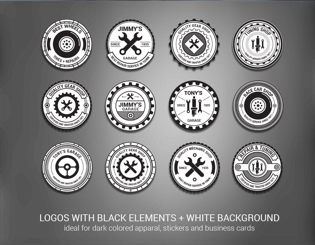 Retro Vector Logos